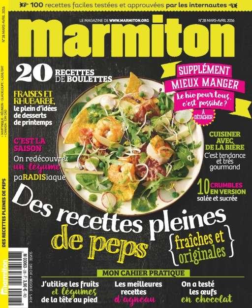 Marmiton 28 - Mars/Avril 2016