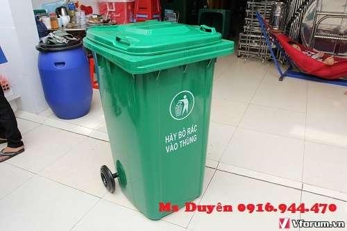 Cung cấp thùng rác nhựa 120l giá rẻ call Ms Duyên 0916944470 Ms Duyên