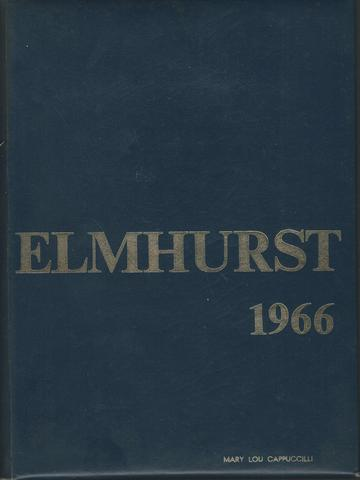 Elmhurst Academy in Portsmouth Rhode Island 1966 Yearbook, Class of 1966