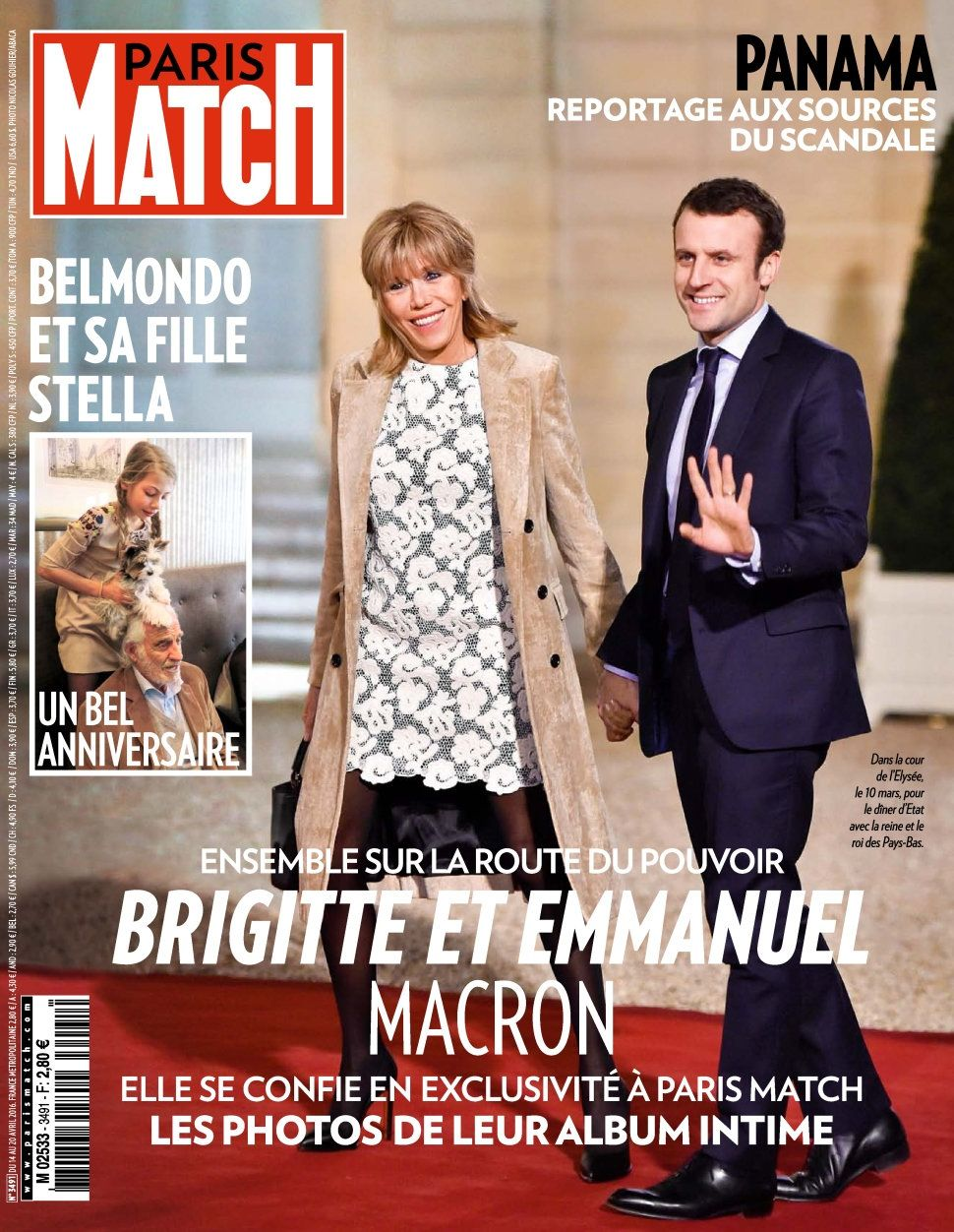 Paris Match 3491 - 14 au 20 Avril 2016