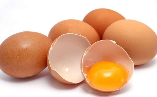 Chữa trị quầng thâm đen với trứng gà