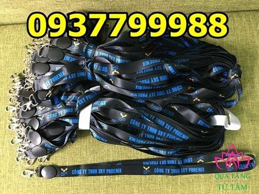Cơ sở sản xuất dây đeo thẻ giá rẻ, xưởng sản xuất dây đeo thẻ giá rẻ