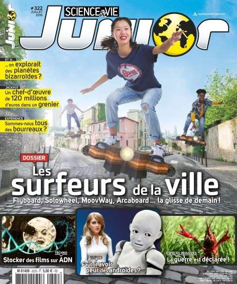 Science & Vie Junior - Juillet 2016