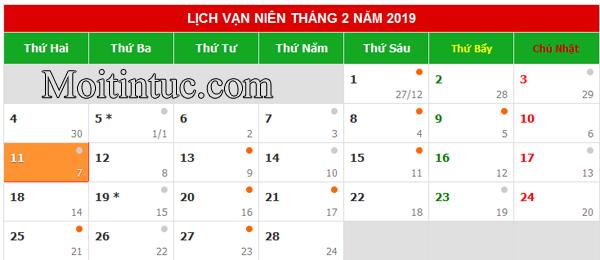 Tết 2018 ngày mấy dương lịch, Tết 2018 được nghỉ mấy ngày?
