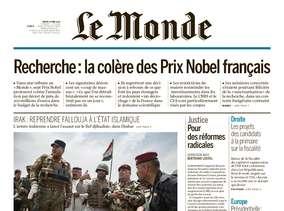 Le Monde du Mardi 24 Mai 2016