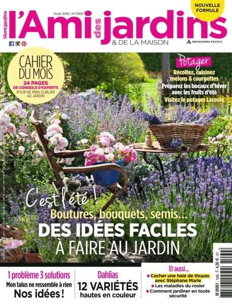 L'Ami des Jardins 1069 - Août 2016