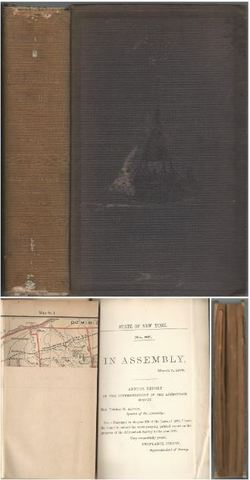 State of New York Seventh Annual Report on the Progress of the Topographical Survey of the Adirondack Region of New York, 1879, Colvin, Verplanck