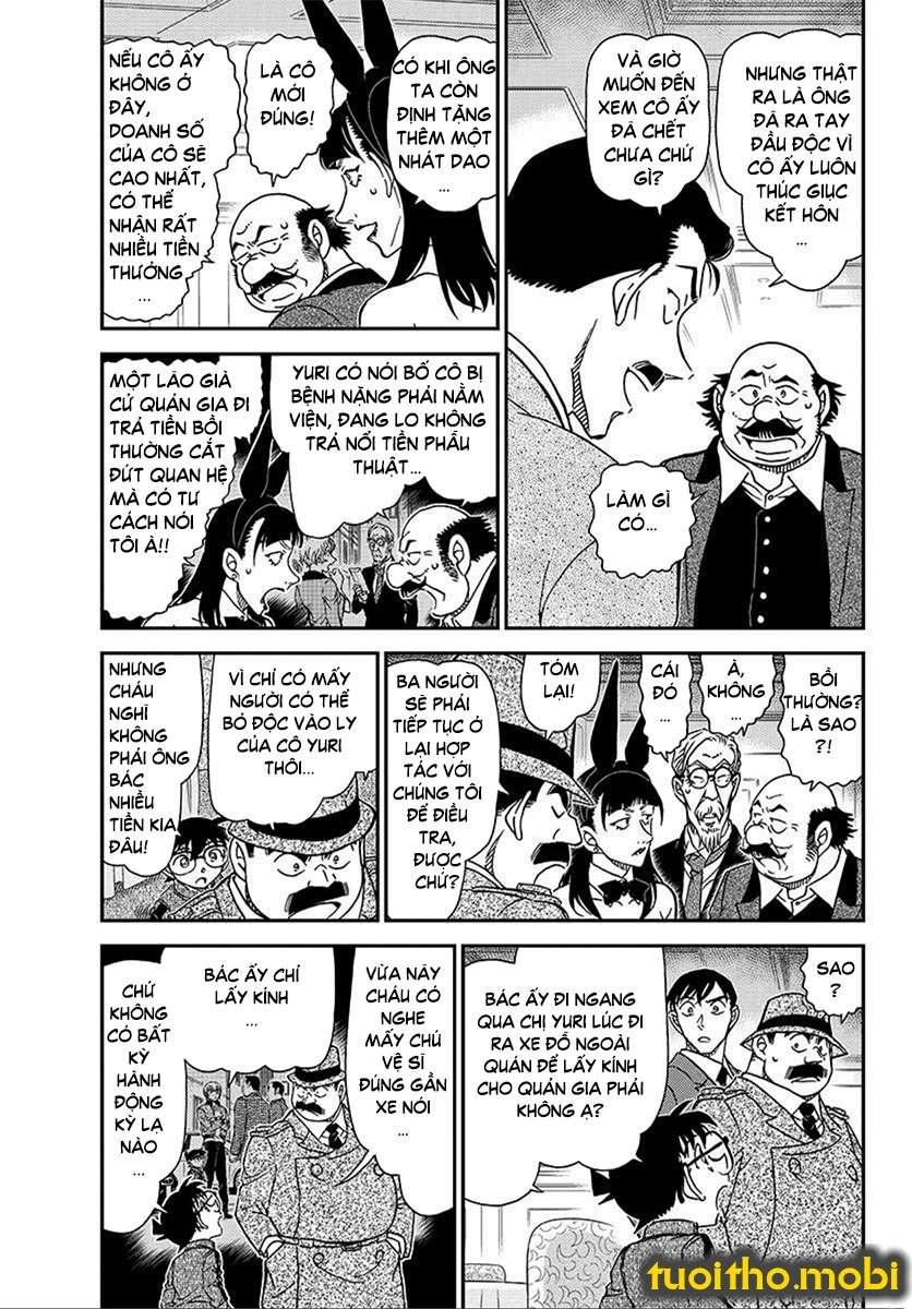 Detective Conan Chap 1012 - Trang 3