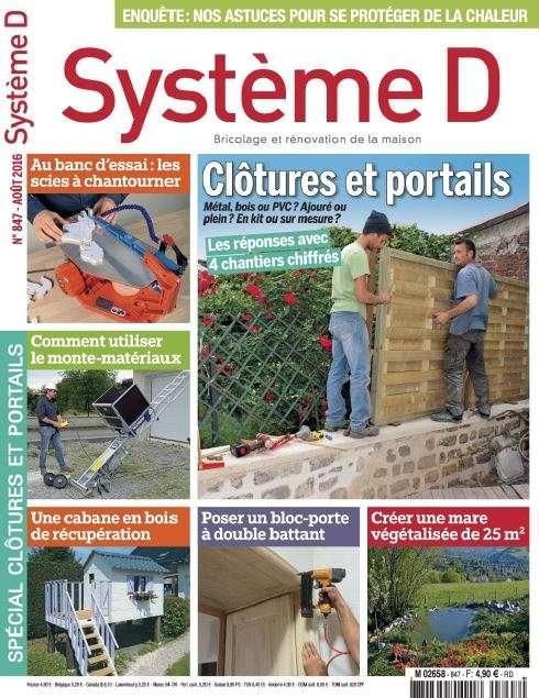 Système D - Aout 2016