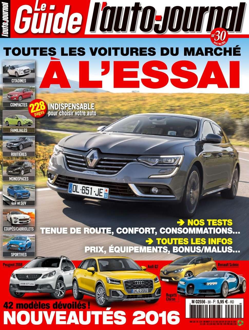 L'Auto-Journal (Le Guide) 3 - Avril/Mai 2016