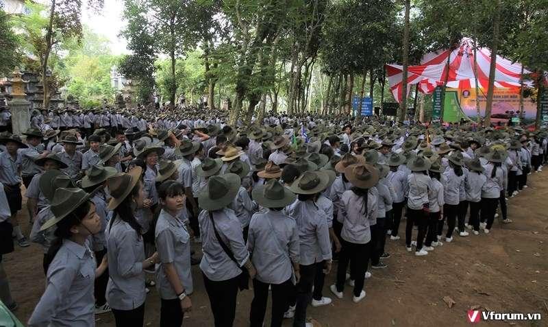 Quảng Ngãi: Hơn 6.000 huynh trưởng, đoàn sinh dự trại Lục Hòa