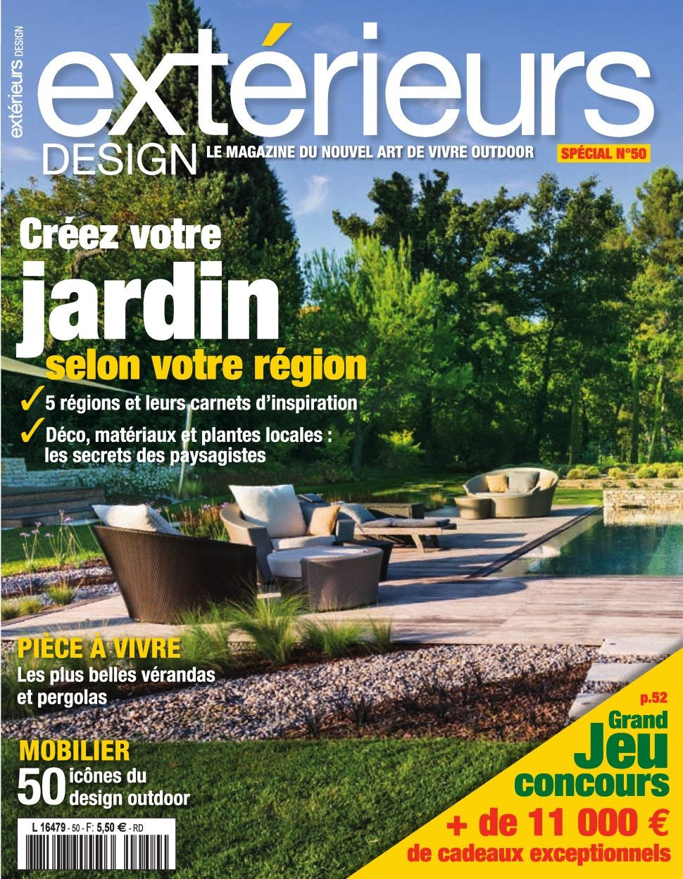 Exterieurs Design 50 - Mars/Avril 2016