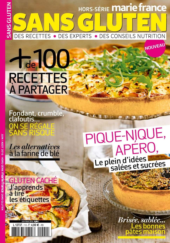 Marie France Hors Série Sans Gluten 1 - Juillet/Aout 2016
