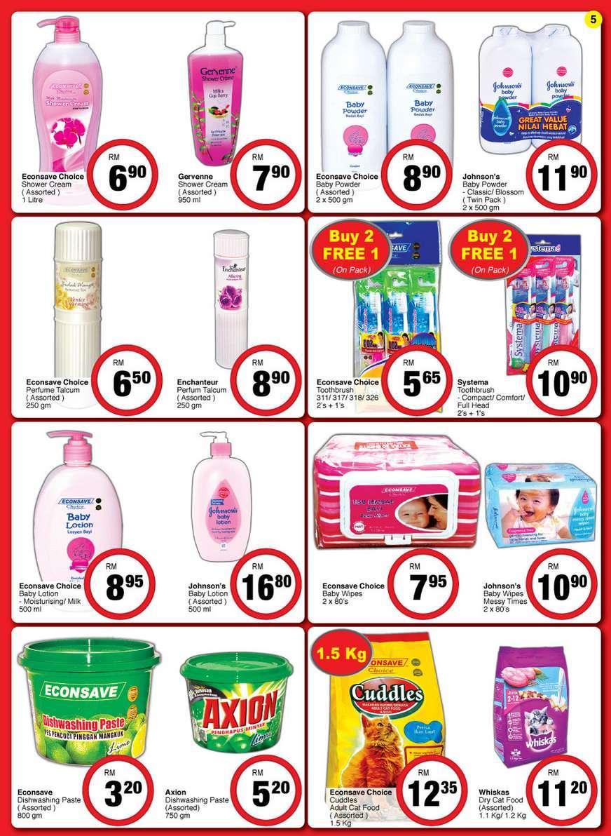 Econsave Catalogue Promotion (8 July 2016 - 19 July 2016)