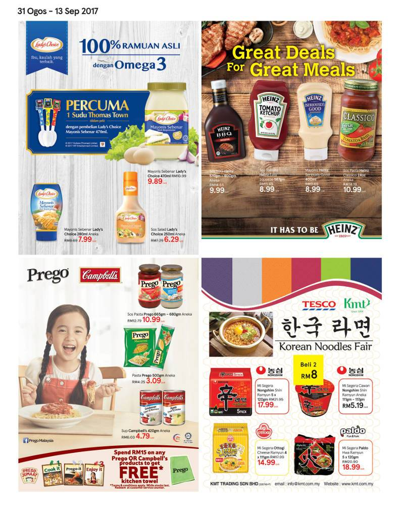 Tesco Malaysia Weekly Catalogue (31 Aug 2017 - 6 Sep 2017)