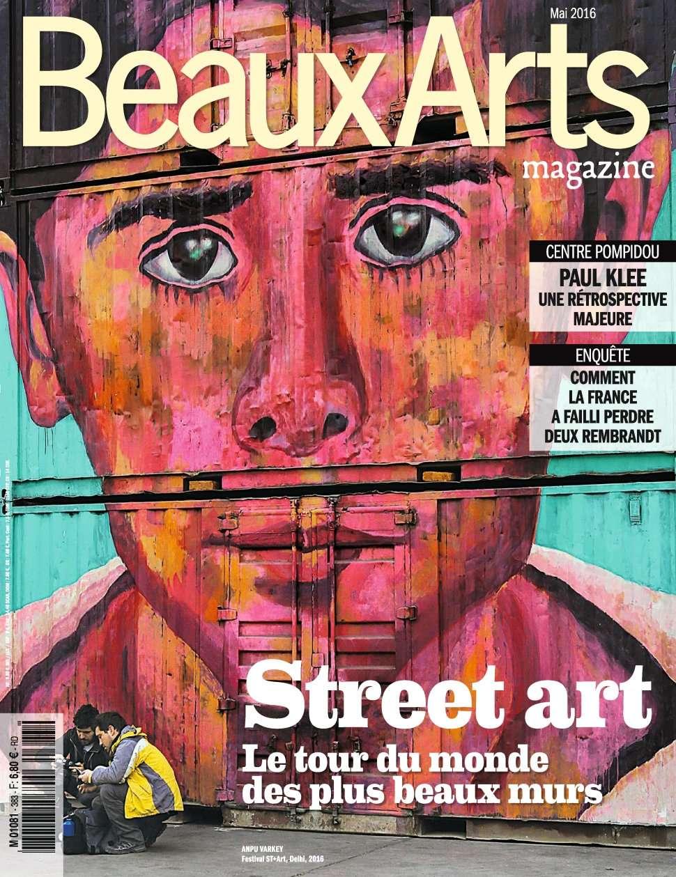 Beaux Arts magazine 383 - Mai 2016