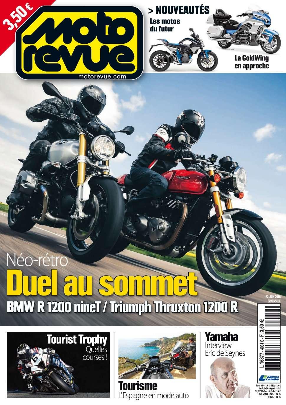 Moto Revue 4031 - 22 Juin 2016
