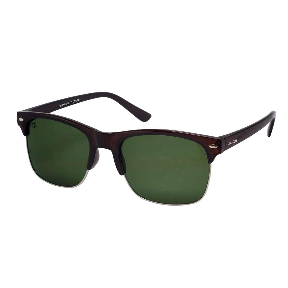 Walrus Levi Green Color Unisex Wayfarer Sunglass - WS-LEVI-040709