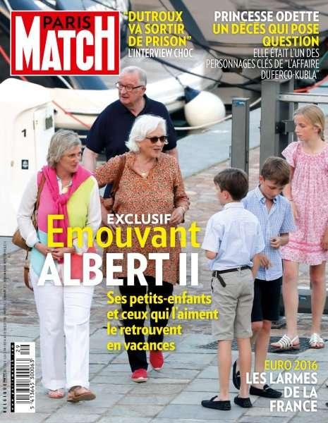 Paris Match Belgique 775 - 14 au 20 Juillet 2016
