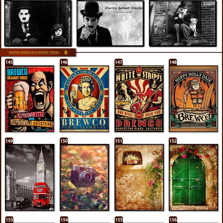 Placas, Vintage, Retro, Cerveja, Decoração, Antigas, MDF