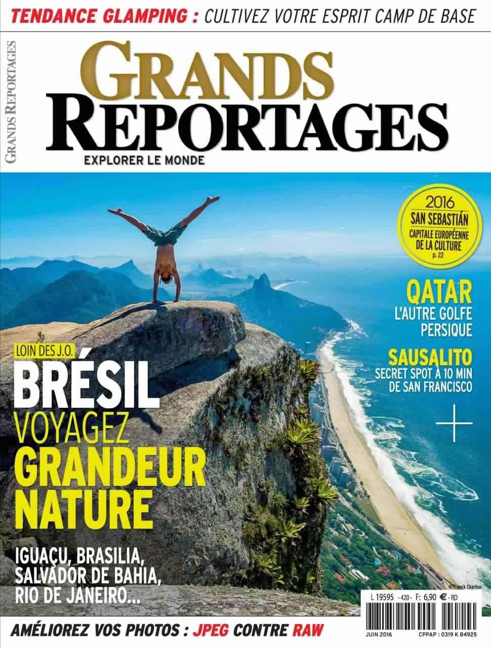 Grands Reportages 420 - Juin 2016