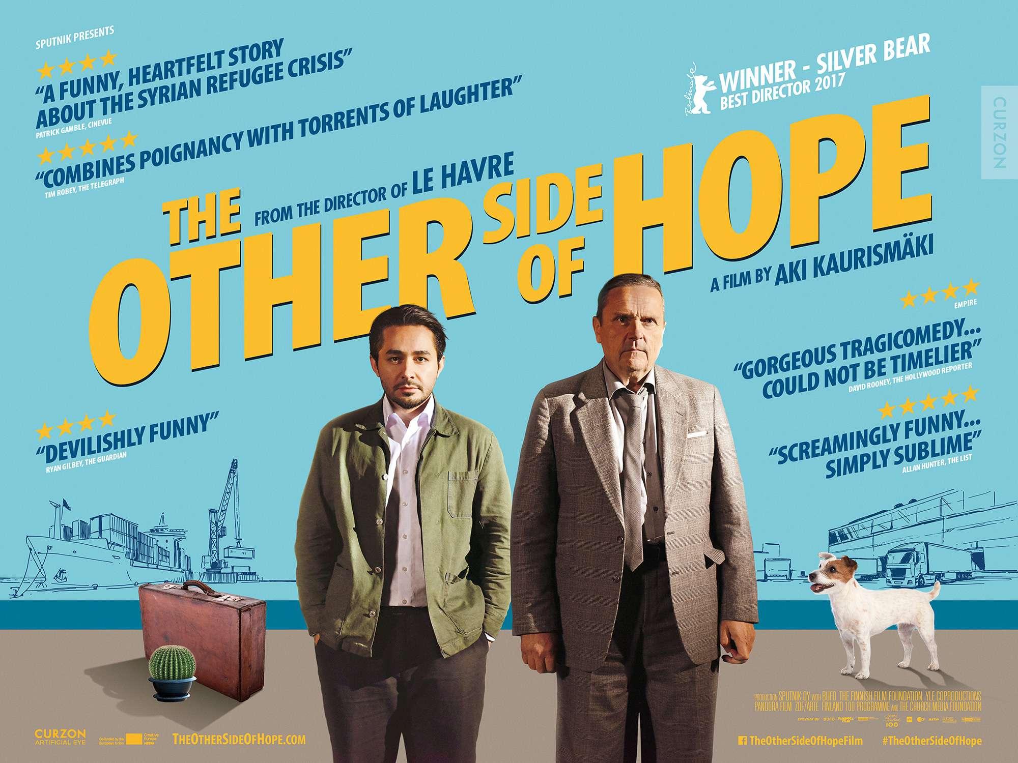 Η άλλη όψη της ελπίδας (The Other Side of Hope) Quad Poster Πόστερ