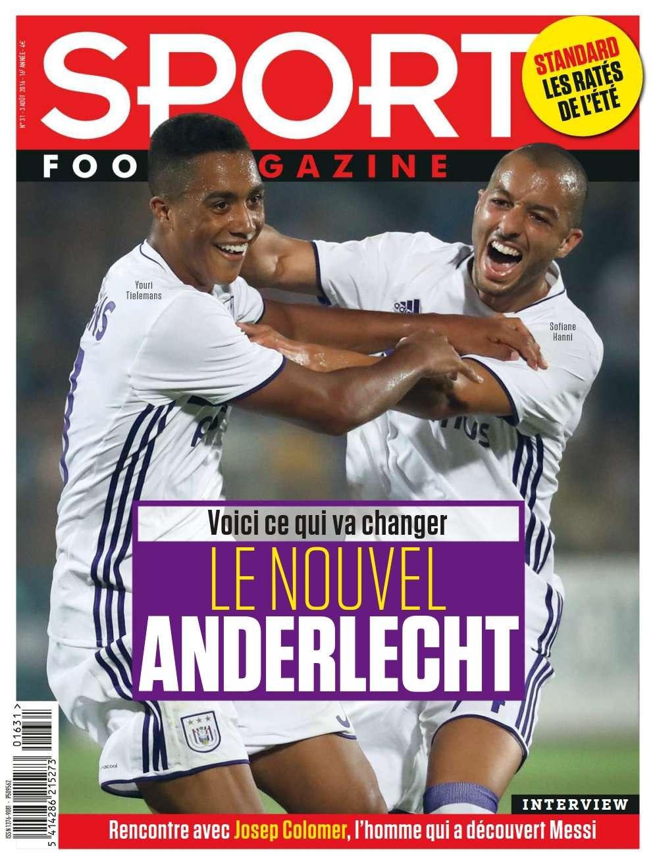 Sport/ Foot-Magazine 31 du 03 Août 2016