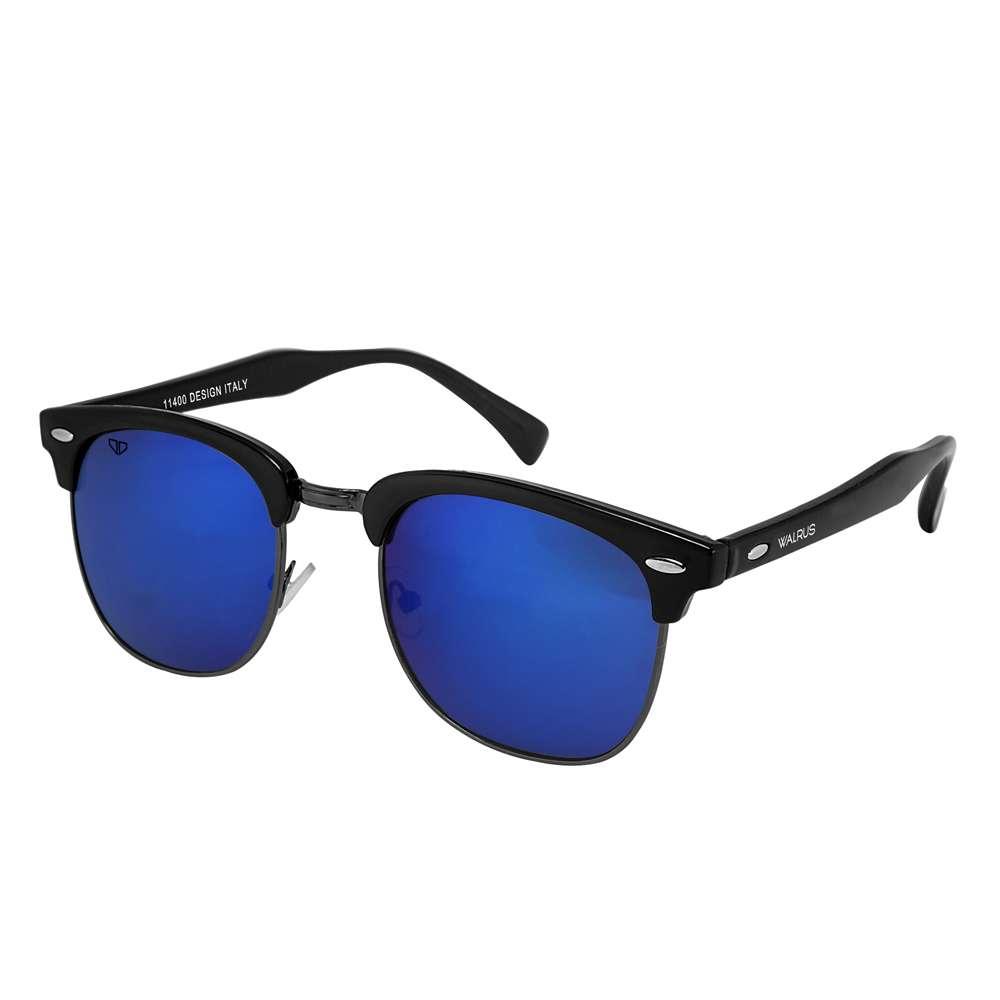 Walrus Michel Blue Color Unisex Wayfarer Sunglass - WS-MCHL-030202