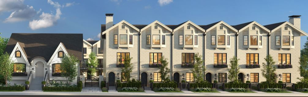 Brownstones New Townhome rendering