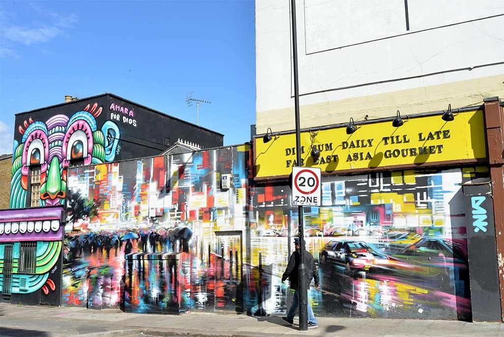 guide Londres street art visite cariboo