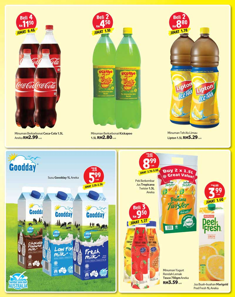Tesco Malaysia Weekly Catalogue (10 November - 16 November 2016)