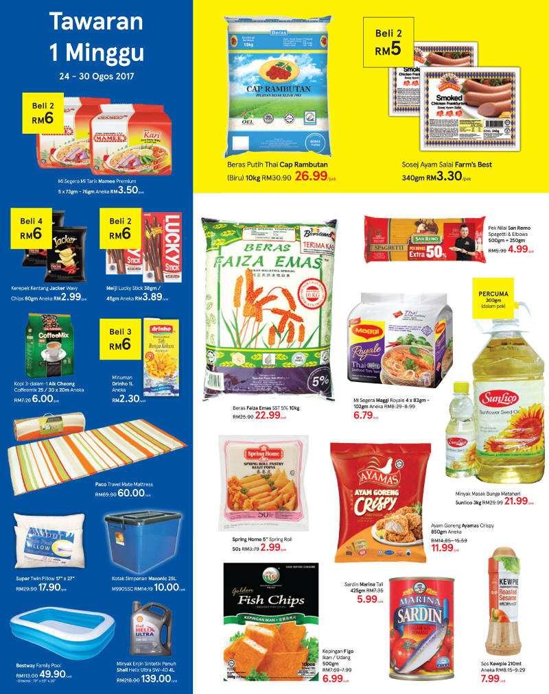 Tesco Malaysia Weekly Catalogue (24 Aug 2017 - 30 Aug 2017)