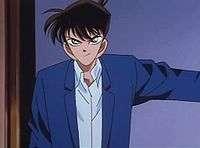 Shinichi khắc phục suy luận của Hattori.
