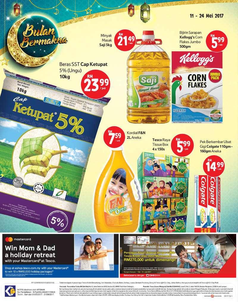 Tesco Malaysia Weekly Catalogue (11 May 2017 - 17 May 2017)