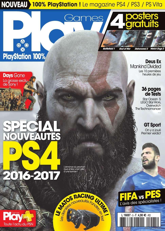 PlayGames 5 - Aout/Septembre 2016