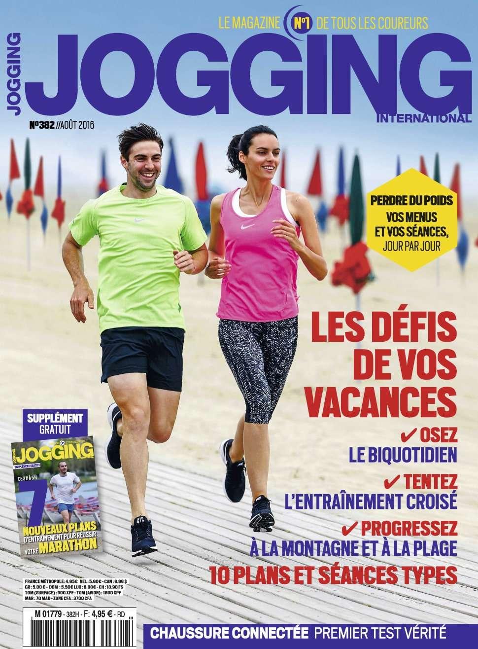 Jogging International 382 - Aout 2016