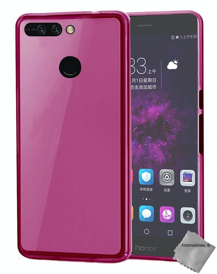 Housse-etui-coque-silicone-gel-fine-pour-Huawei-Honor-8-Pro-V9-verre-trempe