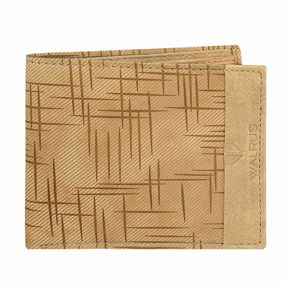 Walrus Owen Tan Color Men Synthetic Wallet- WW-OWN-06