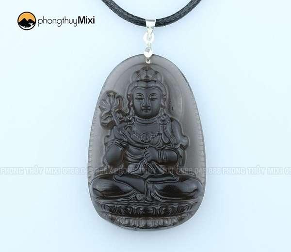 Phật Bản Mệnh Đại Thế Chí Bồ Tát Obsidian khói to