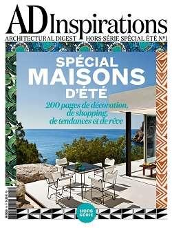 AD Architectural Digest France Hors Série Inspirations 1 - Été 2016