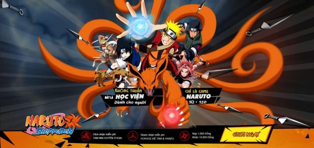 [Naruto Shippuden] Huyền Thoại thể loại dàn trận được yêu thích nhất 2017