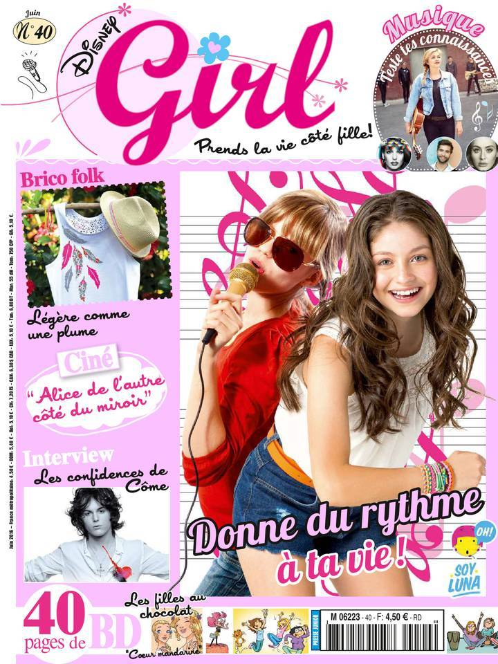 Disney Girl - Juin 2016