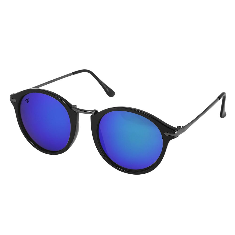Walrus Jackson Multicolor Mirror Color Unisex Oval Sunglass - WS-JKSN-210218