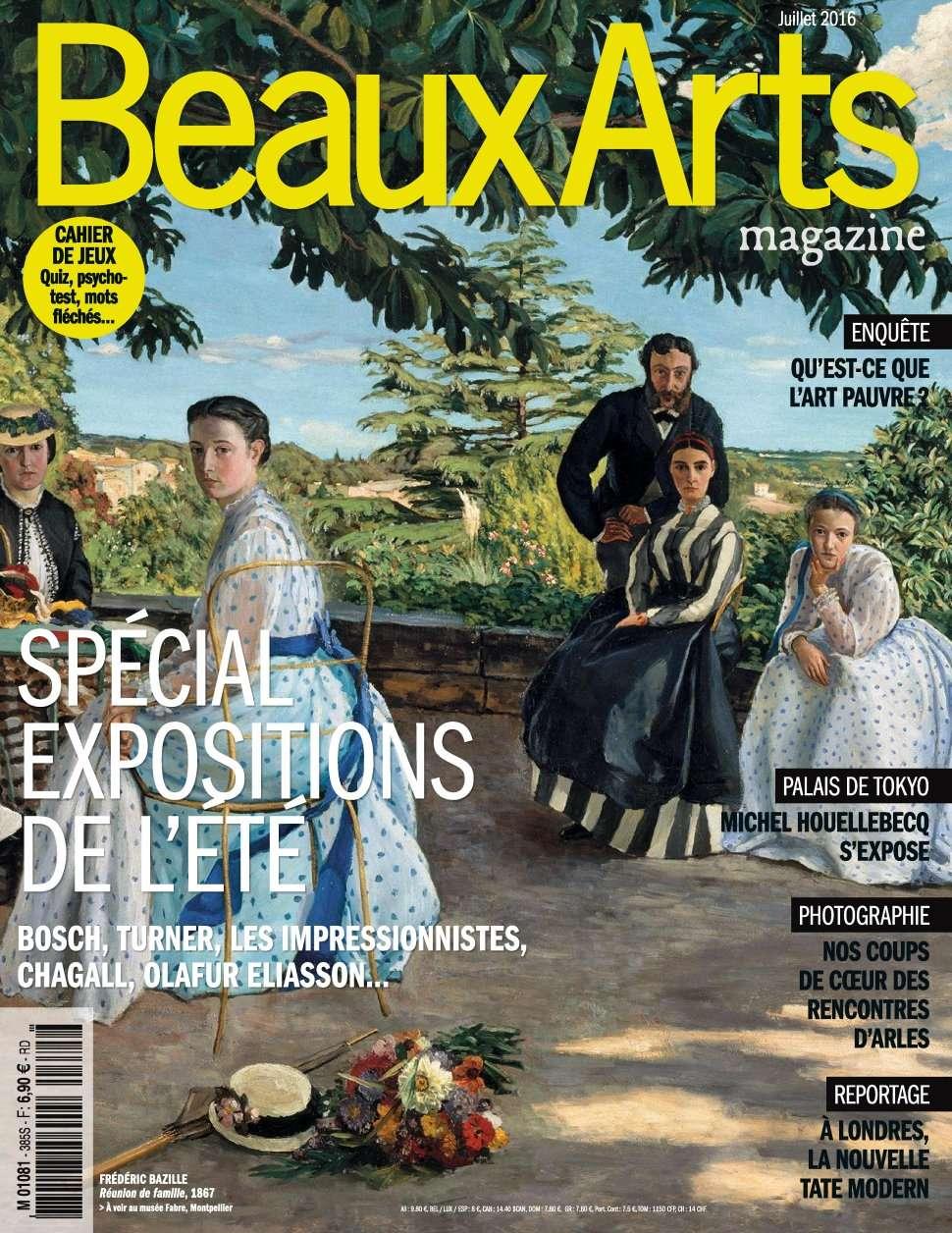 Beaux Arts magazine 385 - Juillet 2016