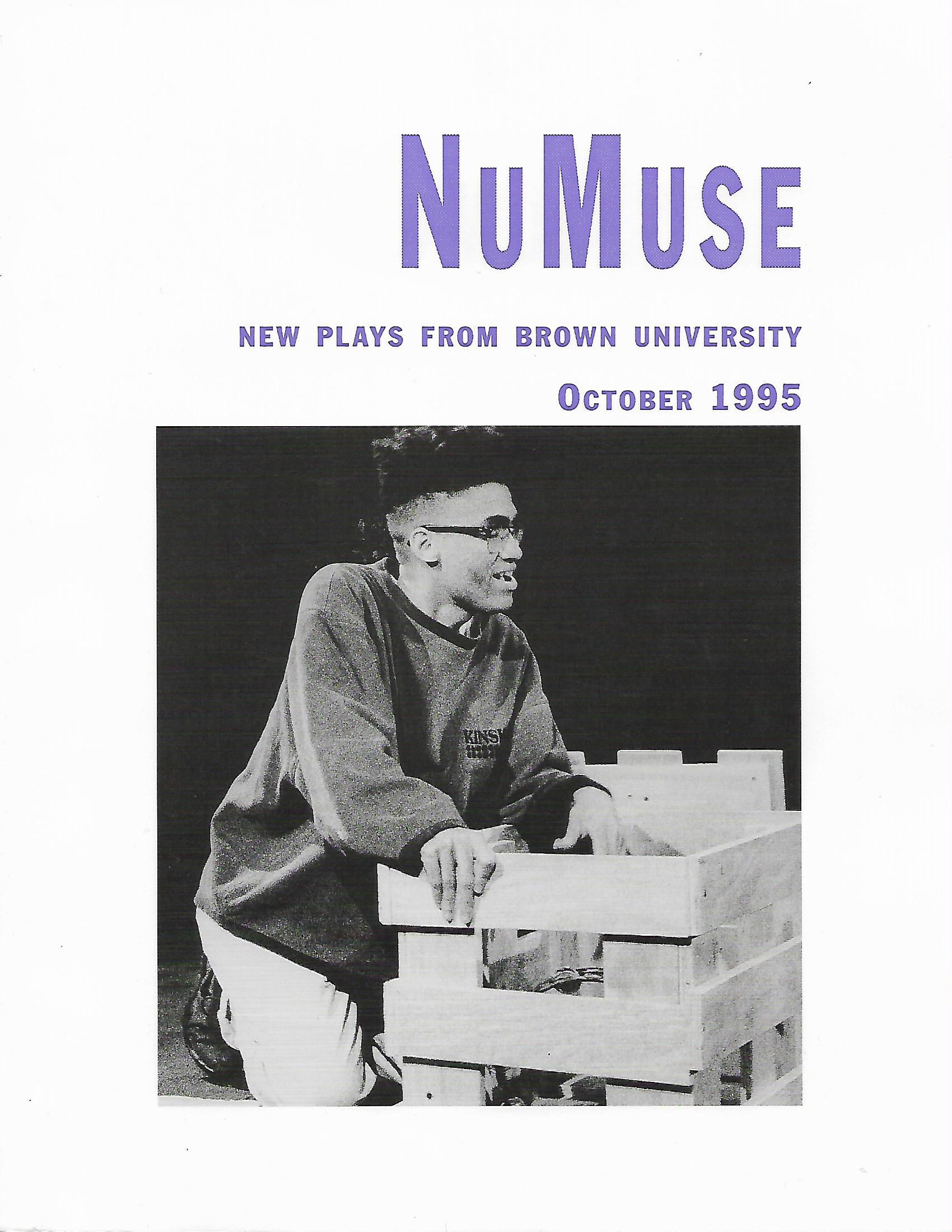 NuMuse: New Plays from Brown University, October 1995, second issue