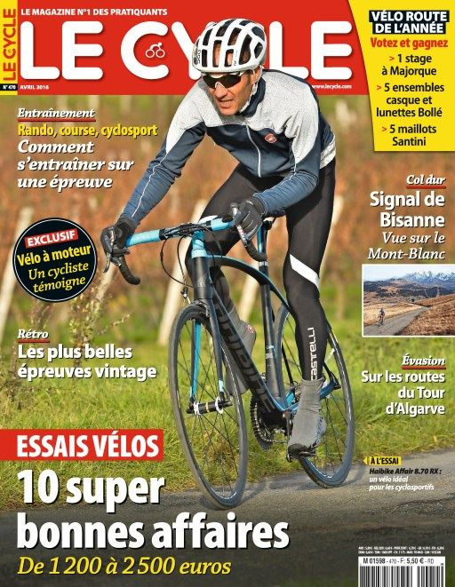 Le Cycle 470 - Avril 2016