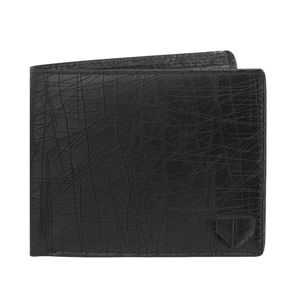Walrus Hornet Black Color Men Synthetic Wallet- WW-HRT-02