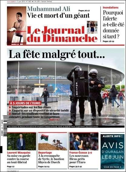 Le Journal du Dimanche 3621 du 5 Juin 2016