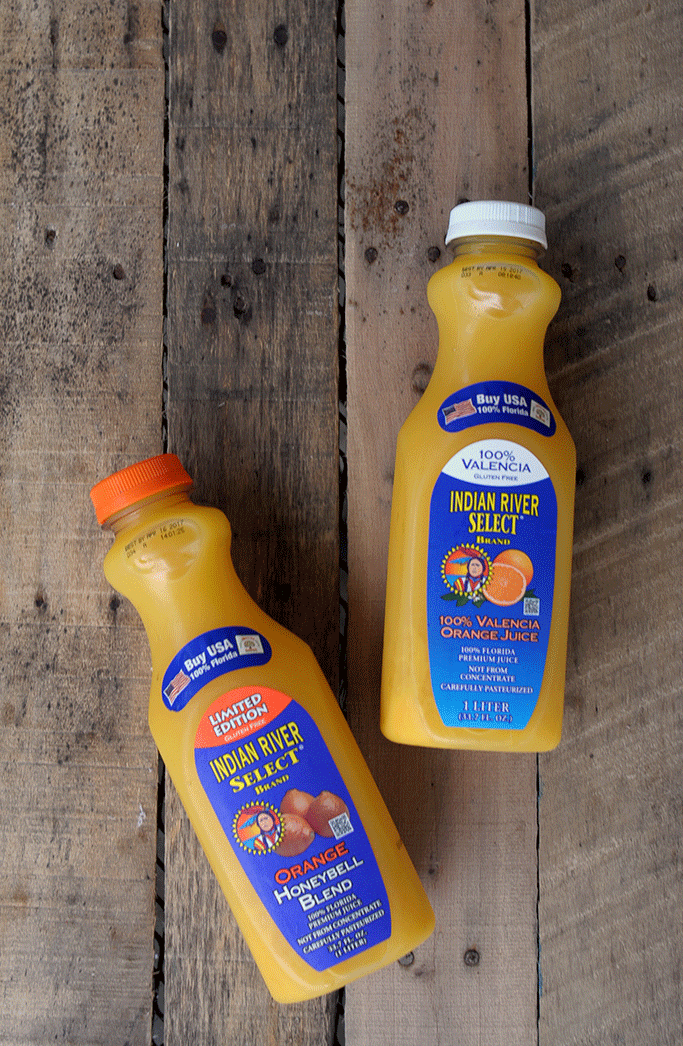 Indian River Select Brand Orange Juice Recipes