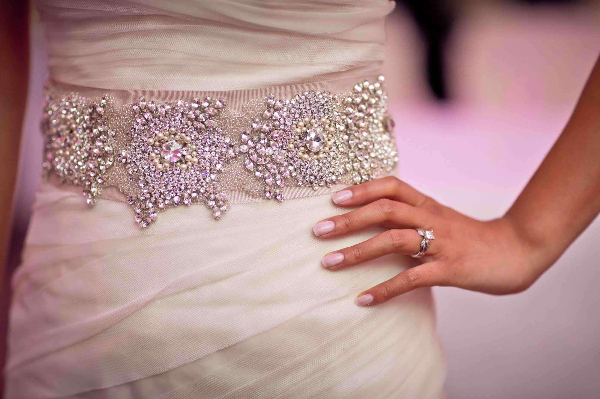 Swarovski Wedding Sash
